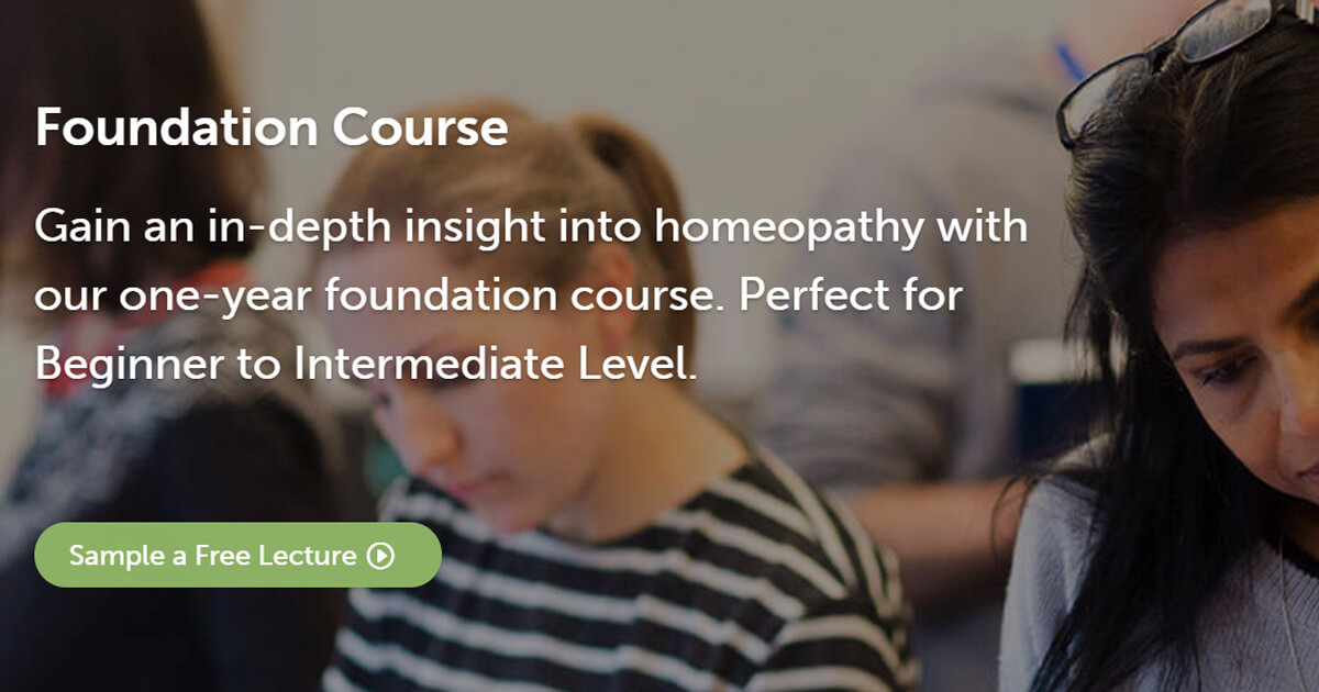 Homeopathy Foundation Course | Beginner to Intermediate Level