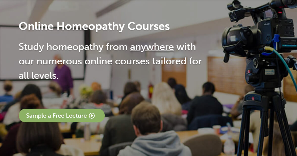 CHE | Online Homeopathy Courses | Distance Learning